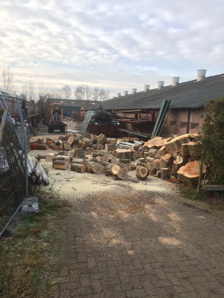 RW Zijlstra Grondverzet - Openhaard hout